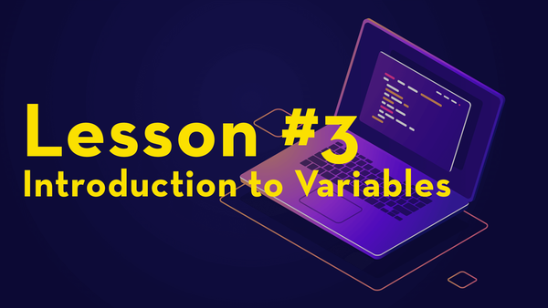 #3. Introduction to Variables video image